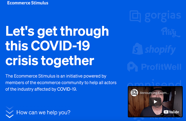ecommerce stimulus
