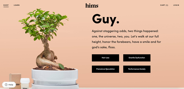 hims home page