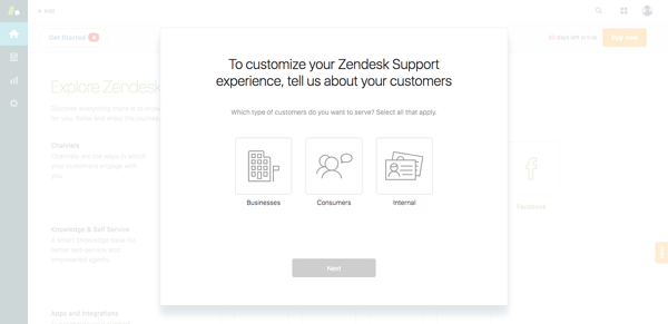 Zendesk asks the right questions to understand their customers and combat churn.
