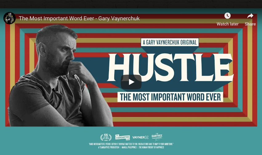 Hustle by Gary Vaynerhuck